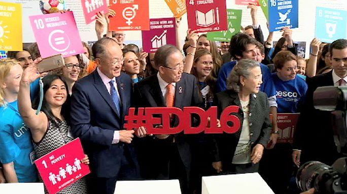 الأمين العام للأمم المتحدة يفتتح في بروكسل مؤتمر الأيام الأوروبية للتنمية للعام 2016