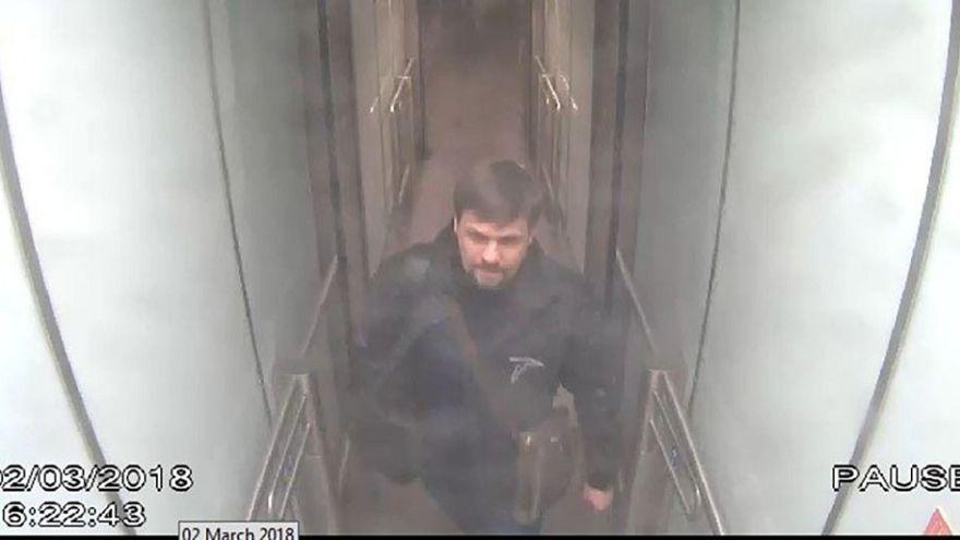 Image: Surveillance footage showing Novichok attack suspect Ruslan Boshirov