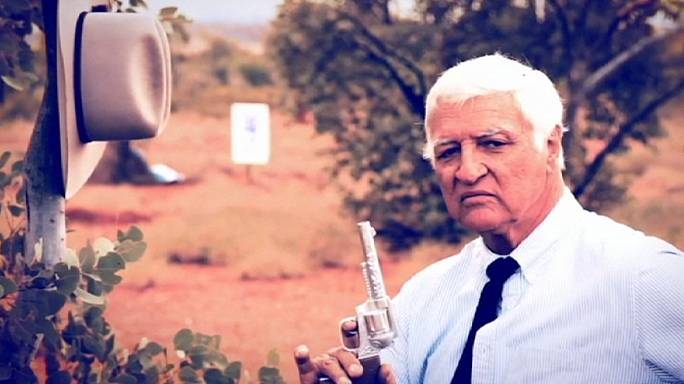 Australian MP defends mock shooting ad
