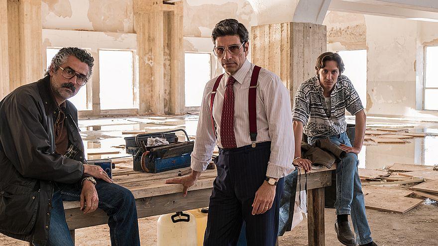 """Image: Actor Dario Aita, right, plays Pasquale di Filippo in """"Il Cacciatore"""