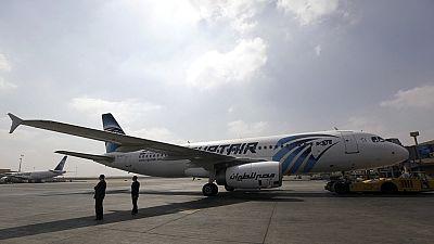 L'une des deux boîtes noires du vol MS 804 d'EgyptAir, repêchée