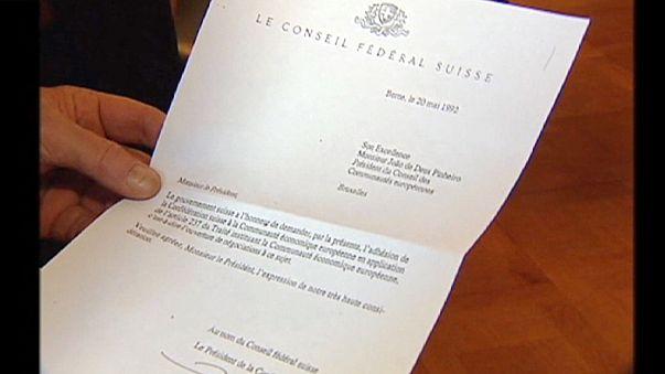 Svájc hivatalosan is visszavonja tagsági kérelmét Brüsszelben