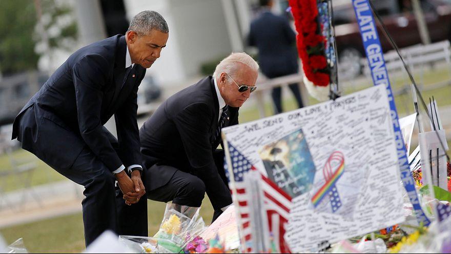 Обама посетил Орландо и вновь призвал к ужесточению контроля за оружием