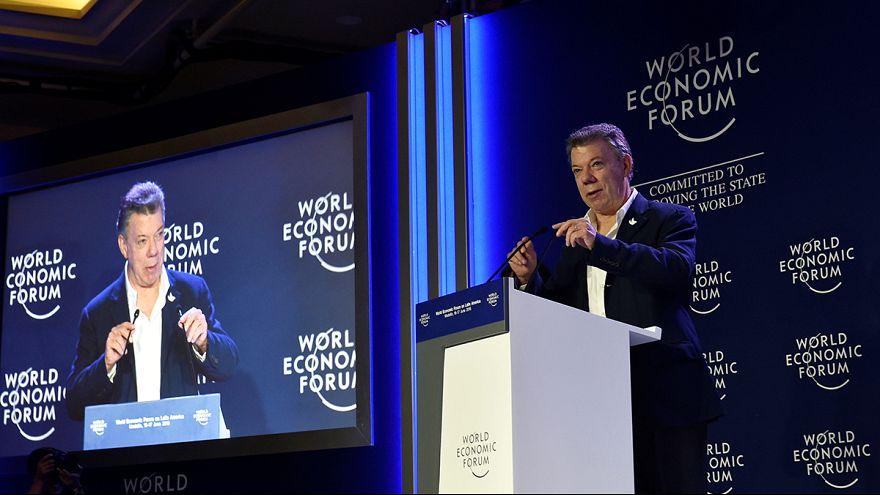"""Kolumbien: Santos warnt vor """"Nein"""" zum Friedensabkommen mit der FARC"""