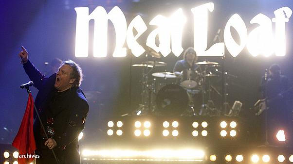 Maolre sul palco per la 68enne rockstar statunitense Meat Loaf