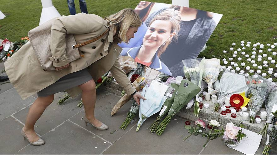 London tribute for murdered MP Jo Cox