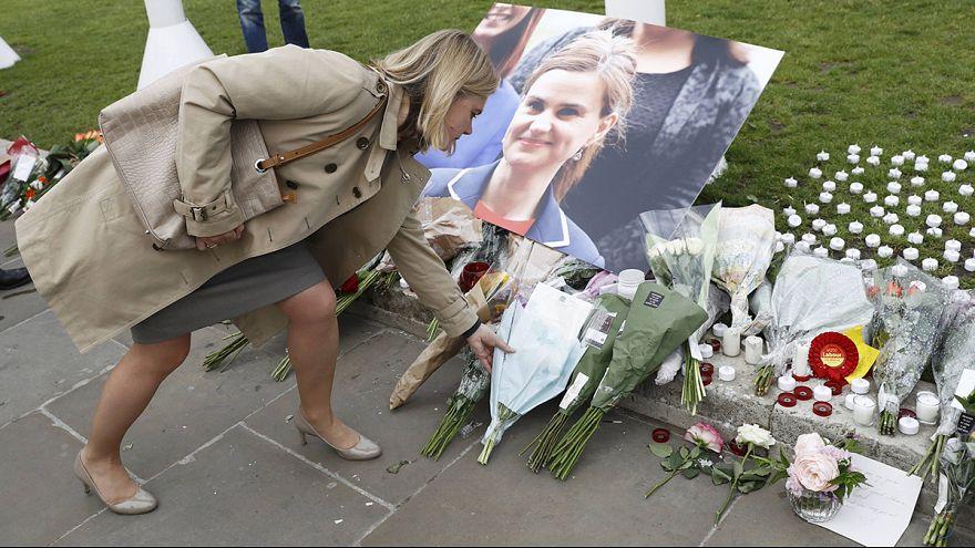 Ehrung für die ermordete britische Parlamentsabgeordnete Jo Cox