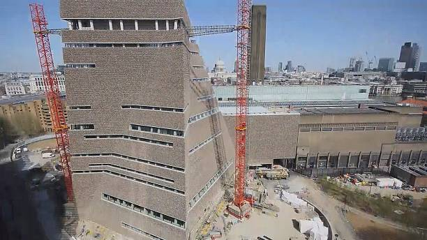 Twisting and turning into the future - Tate Modern extension unveiled