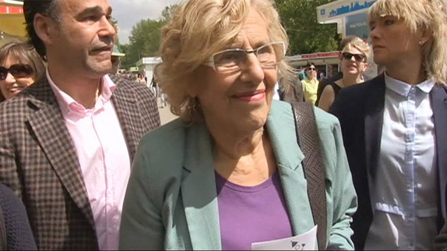 Manuela Carmena, sindaco di Madrid eletta con Podemos