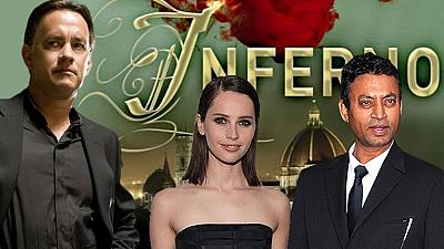 Inferno world premiere set for October 8th in Florence, Italy