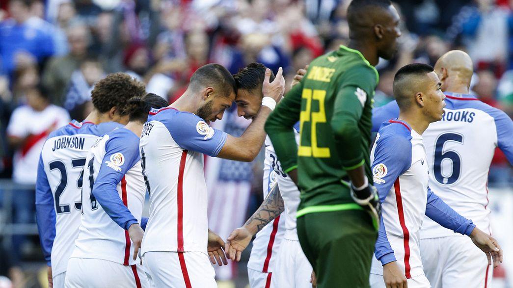 Сборная США первой вышла в полуфинал Кубка Америки