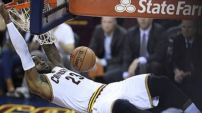 LeBron inspired Cavaliers inch closer to NBA championship