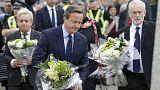 A konzervatívok és a munkáspárt vezetője együtt emlékezett a meggyilkolt brit képviselőnőre