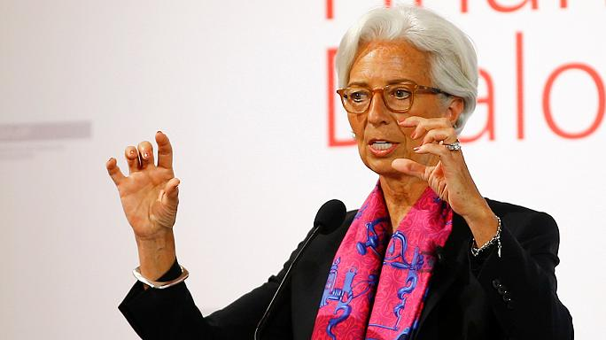 "Lagarde: ""Bon courage"" a briteknek"