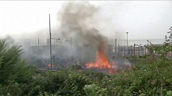 Siroco origina incêndios em Itália