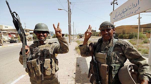 The Iraqi government says it has retaken Falluja