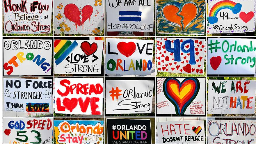 Orlando : Le deuil des familles des victimes une semaine après la tuerie de la discothèque Pulse