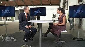 Moon-set: Der UN-Generalsekretär zieht Bilanz