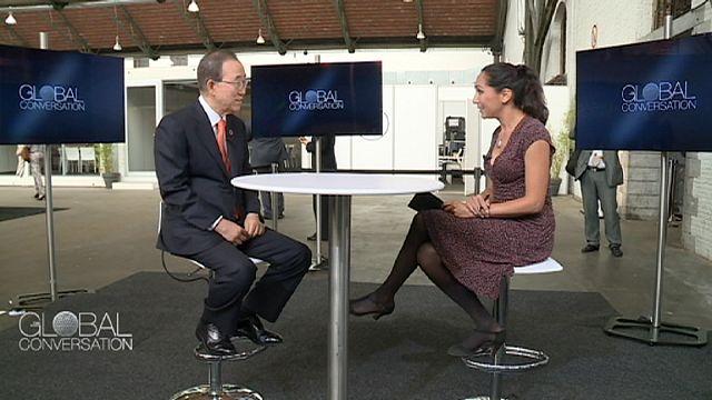 Ban Ki-moon : Tüm dünyada sesi duyulmayanların sesi, kendini savunamayanların savunucusu olmaya çalıştım