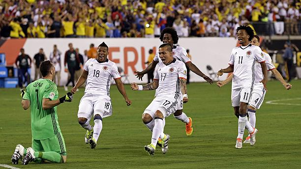 Colombia down Peru to reach Copa America semi-finals
