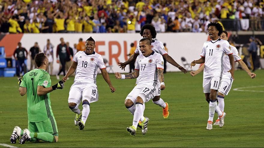Copa America, Colombia in semifinale. Peru' battuto ai rigori