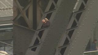 Man arrested after climbing into arch of Sydney Harbour Bridge