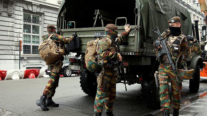 Belgian railway station back to normal after false alert