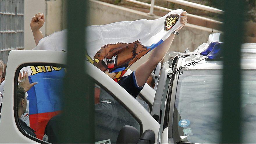 Orosz szurkolókat utasítottak ki Franciaországból
