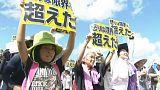 Tecavüz ve cinayet Okinawa halkını ayağa kaldırdı