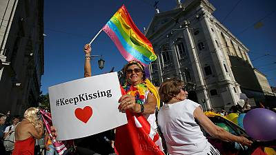 Thousands march at gay pride parade in Portugal – nocomment