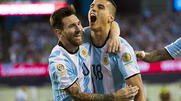 Copa America: Argentina thump Venezuela to reach semi-finals
