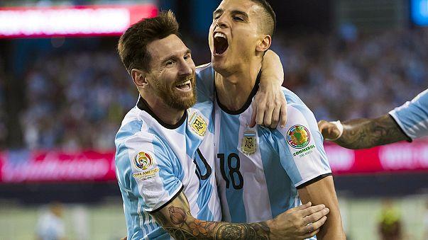 Copa America: Argentina thump Venezuela to reach semi-finals