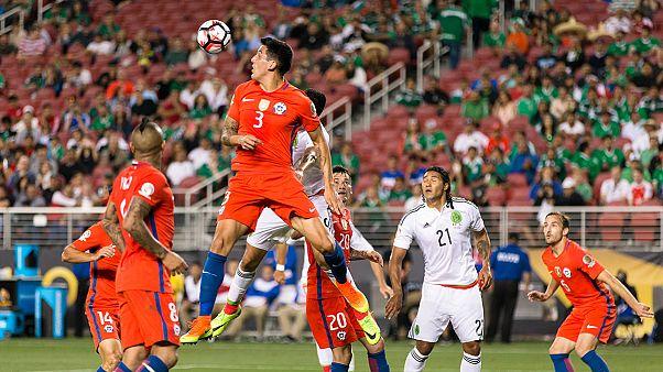 Copa America: Cile in semifinale, Messico umiliato 7-0