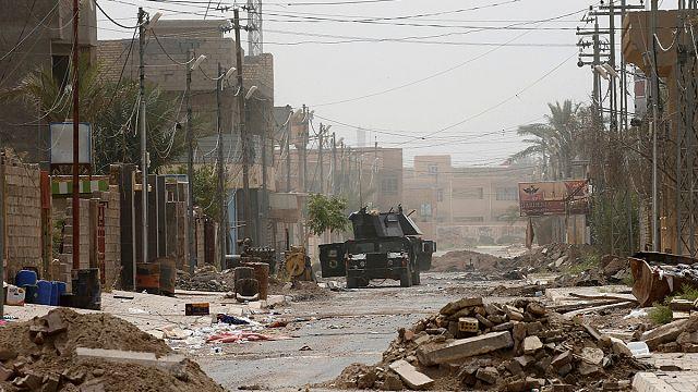القوات العراقية تلاحق بقايا داعش في الفلوجة