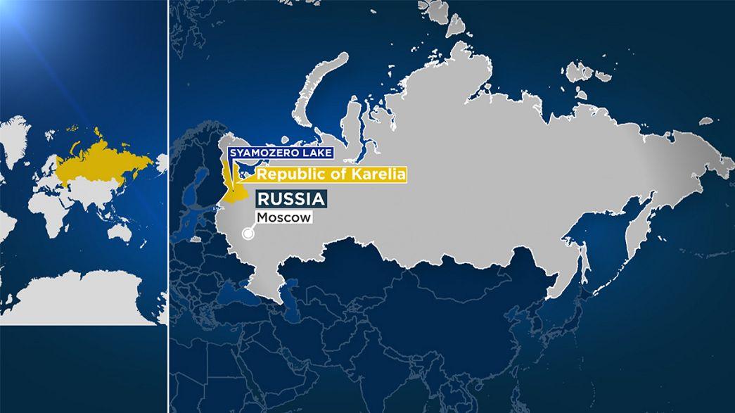 حداقل ۱۰ دانش آموز در دریاچه ای در کارلیای روسیه جان باختند