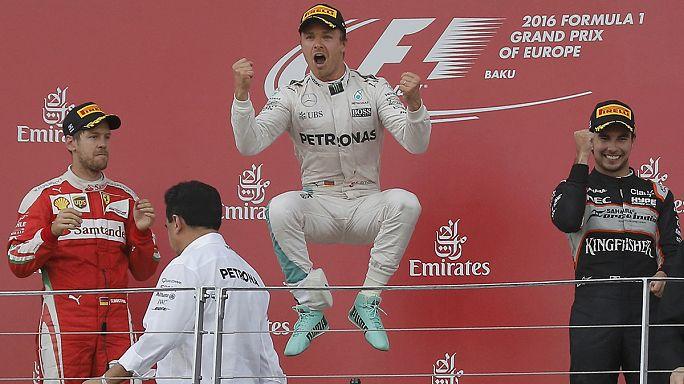 Speed - Rosberg gewinnnt in Baku