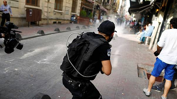 Turkish police stop Istanbul gay pride event with tear gas and plastic bullets