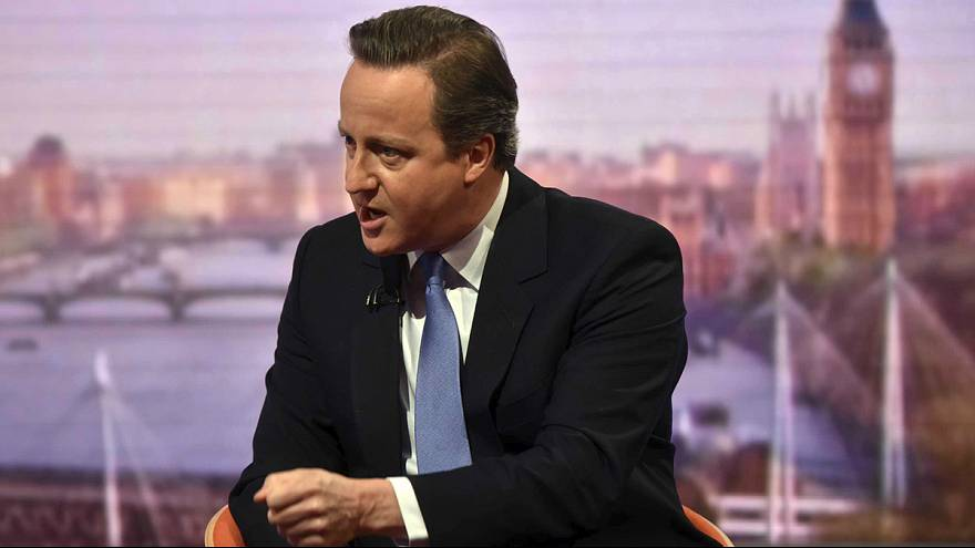 """""""Britain's not a quitter"""" says Cameron in Brexit debate"""