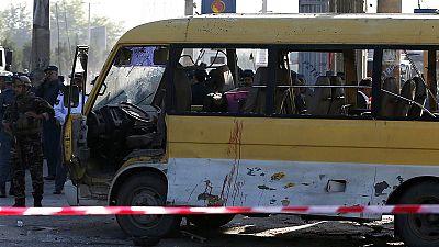 Minibus blast kills several in Kabul