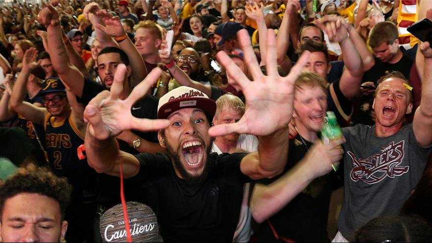 Cleveland Cavaliers win basketball's NBA championship
