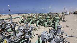 Libya's unity govt condemns militia attacks on oil terminals.