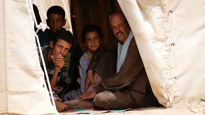 65.3 مليون نازح: رقم قياسي جديد للاجئين حول العالم