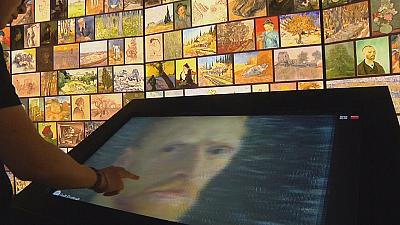 Interactive Van Gogh exhibit opens in China