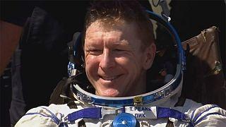 Astronauta britannico sano e salvo a casa