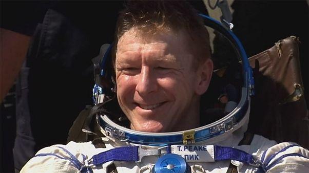 Британский астронавт Тим Пик благополучно вернулся на Землю