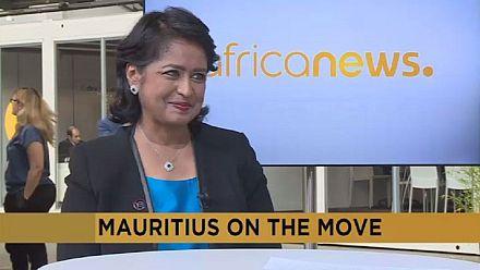 La présidente mauricienne Ameenah Gurib-Fakim sur Africanews