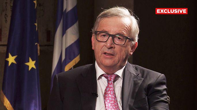 EU post-Brexit 'would not change its nature', Juncker tells Euronews