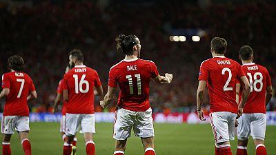 Wales schießt Russland aus der EM - England im Achtelfinale