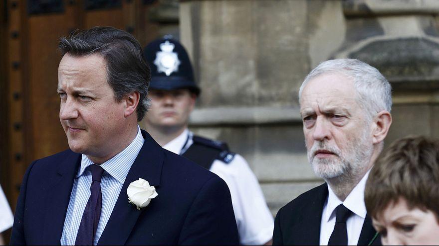 Cameron y Corbyn rinden homenaje en el Parlamento a la diputada laborista asesinada Jo Cox