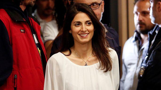 Primeira mulher presidente da câmara de Roma fala à Euronews